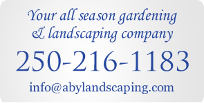 Contact A Beautiful Yard Landscaping Victoria BC